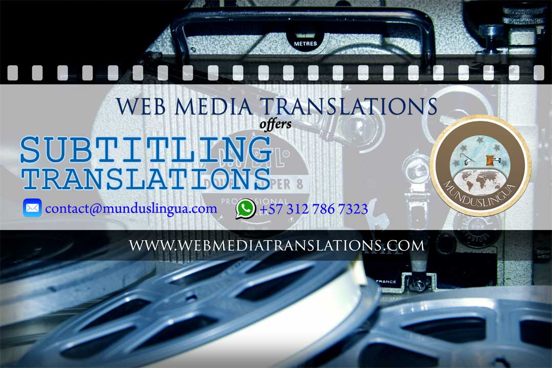 Web Media offers Subtitling Translations