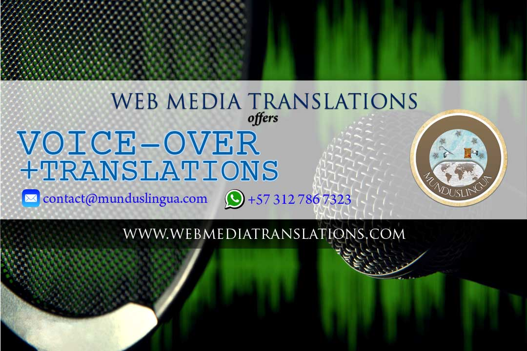 Web Media offers Voice Over services for online publishers and video content providers