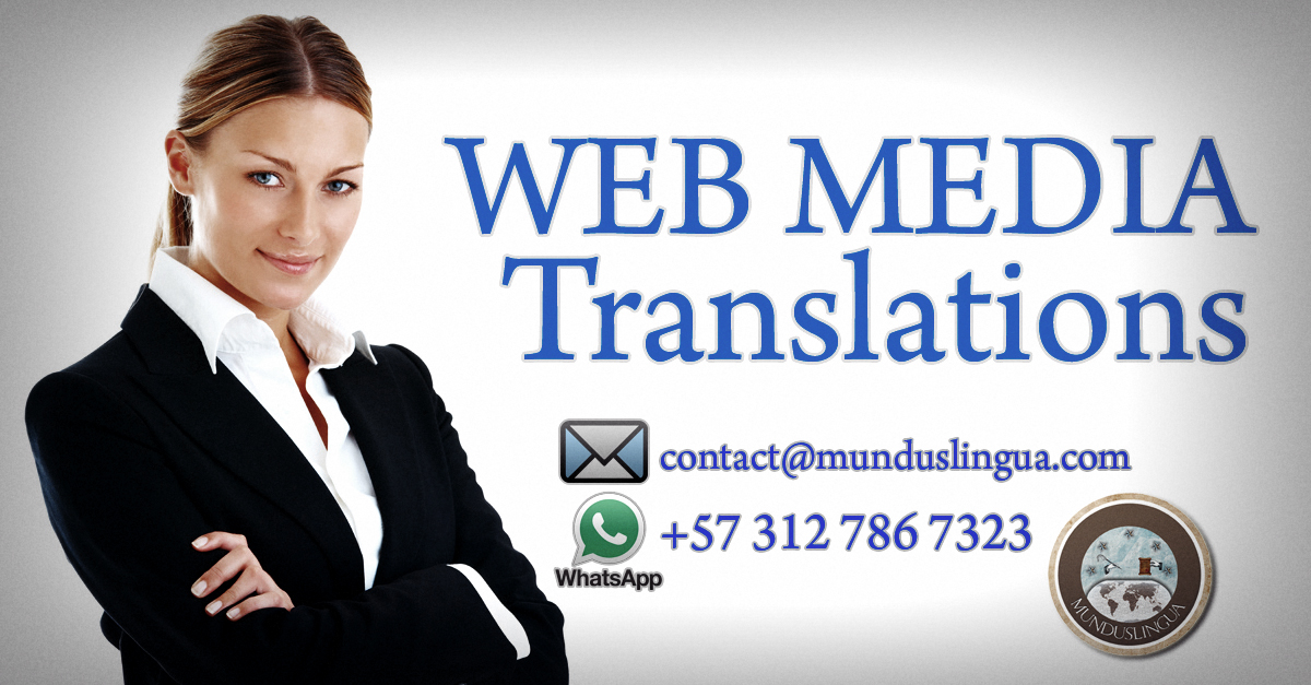 Web Media Translations - Contact Information